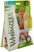 Whimzees - Зубная щетка для собак S 9 см (24 шт.)