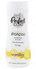 8 in1 PC Shampoo Natural Oatmeal - Успокаивающий овсяный шампунь с ароматом ванили для собак (473 мл)