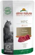 Almo Nature HFC Jelly - паучи для кошек с тунцом в желе (55 г)