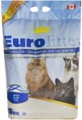 "Eurolitter Dust Free - комкующийся наполнитель ""Контроль запаха"", без пыли, без запаха"