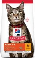 Hill`s Science Plan Adult - сухой корм для взрослых кошек c курицей
