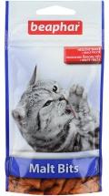 Beaphar Malt Bits malt paste - Беафар лакомство подушечки для вывода шерсти из желудка кошек (35 г)