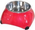 Super Design - миска меламиновая для собак высокая (160 мл) малиновая