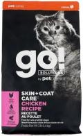 Go! Solutions Skin - сухой корм для котят и кошек с цельной курицей, фруктами и овощами