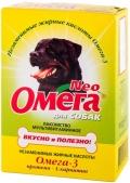 Омега Нео - мультивитаминное лакомство с протеином и L-каринтином для собак (90 таб.)
