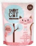 Smart Cat - наполнитель силикагелевый с ароматом детской присыпки