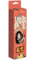 Little One - Палочки для морских свинок, кроликов и шиншилл с фруктами (2 по 60 г)