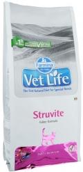 Farmina Vet Life Cat Struvite - сухой диетический корм для взрослых кошек при мочекаменной болезни струвитного типа