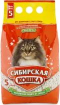 """Сибирская кошка - наполнитель впитывающий для длинношерстных кошек """"Экстра"""""""