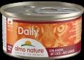 Almo Nature Daily - мусс для кошек с уткой (85 г)