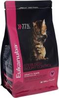 Eukanuba Cat Weight - сухой корм для взрослых кошек с избыточным весом и стерилизованных