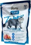 Brit Care Tobby Large Cat - сухой гипоаллергенный корм для взрослых кошек крупных пород с уткой и курицей