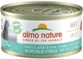 "Almo Nature HFC Jelly - консервы для кошек ""Форель и тунец"" в желе (70 г)"