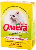 Омега Нео - мультивитаминное лакомство с биотином и таурином для кошек (90 таб.)
