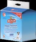 Mr. Fresh Expert Regular - пеленки гелевые впитывающие 60 x 60 см (24 шт.)