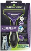 Furminator Short hair Cat M/L - Фурминатор для больших кошек c короткой шерстью