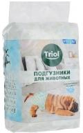 Triol - подгузники для собак XL (10 шт.)