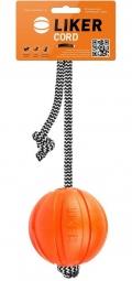 Liker - Cord мячик на шнуре для собак (7 см)