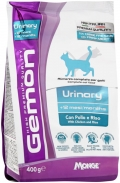 Gemon Cat Urinary - сухой корм для профилактики мочекаменной болезни для взрослых кошек с курицей и рисом