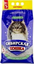 """Сибирская кошка - наполнитель комкующийся """"Супер"""""""