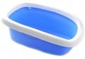Stefanplast Sprint-10 - Туалет с рамкой голубой (31 x 43 x 14 см)