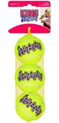 """Kong Air - игрушка для собак """"Теннисный мяч"""" маленький (3 шт. по 5 см)"""
