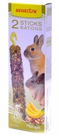 Benelux Sticks rodents - Лакомые палочки для грызунов с орехами и бананами (2 шт.)