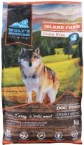 """Wolf""""s Mountain Island Farm - беззерновой сухой корм для собак с уткой, индейкой и дичью"""