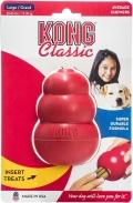 Kong Classic L - игрушка для собак классик, большая (10 x 6 см)