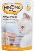 """Мнямс - пауч для кошек """"Каччиаторе по-Неаполитански"""" с курицей и томатами (85 г)"""
