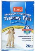 Hartz Training Pads - Пеленки для щенков и собак (56 x 56 см) 24 шт.
