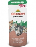 "Almo Nature Green Label Mini Food Salmon Fillet - лакомство для кошек ""Филе лосося"" (3 г)"