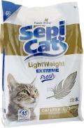 Sepi Cat - облегченный комкующийся наполнитель экстра, Детская присыпка
