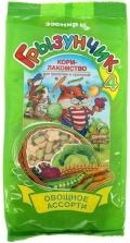 """Грызунчик 4 - Корм-лакомство для грызунов и кроликов """"Овощное ассорти"""" (200 г)"""